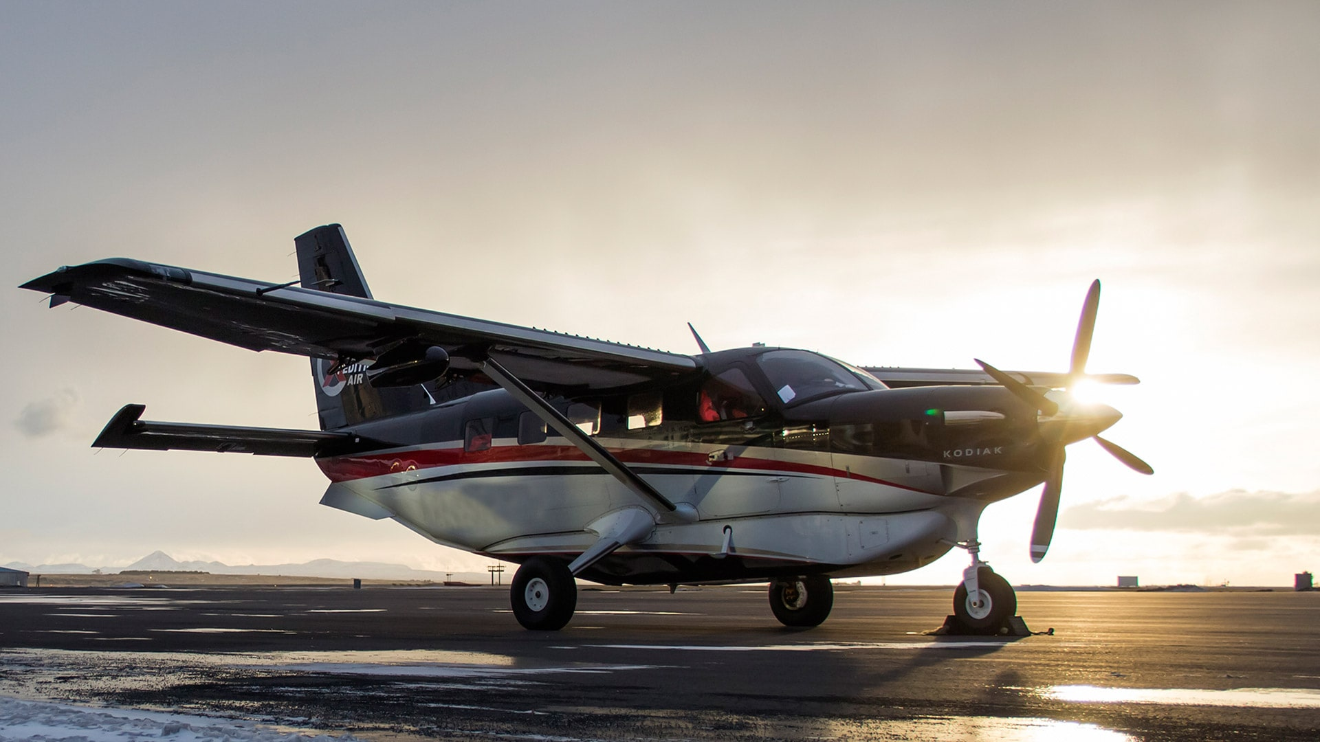 The New Kodiak Aircraft Dedicated For Mission Service Sits Pleted And Ready In Factory At Aviation Sandpoint Idaho